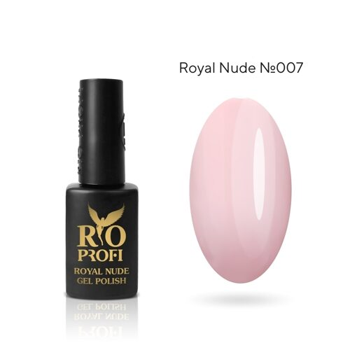 Rio Profi Гель лак серия Nude Royal №7 Анастасия
